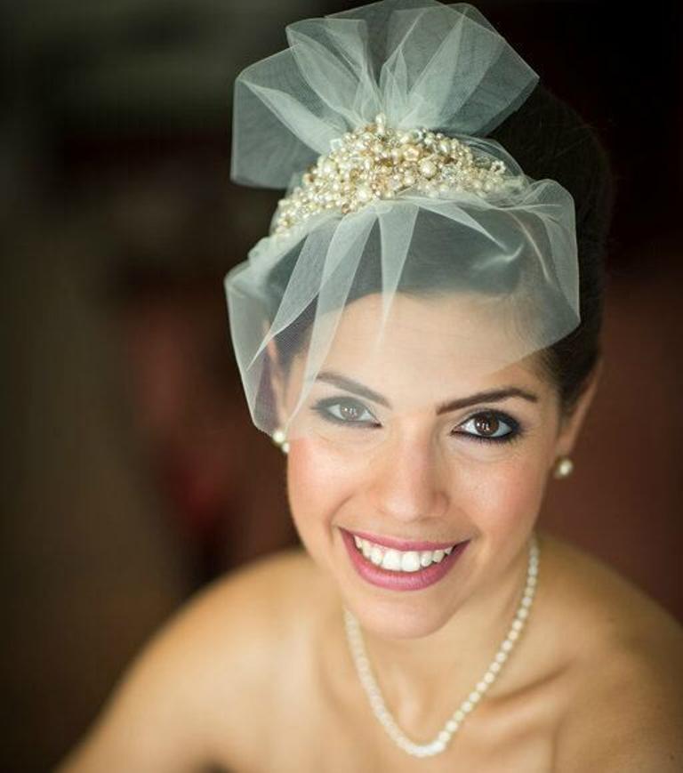 The Story of a bespoke bridal headdress
