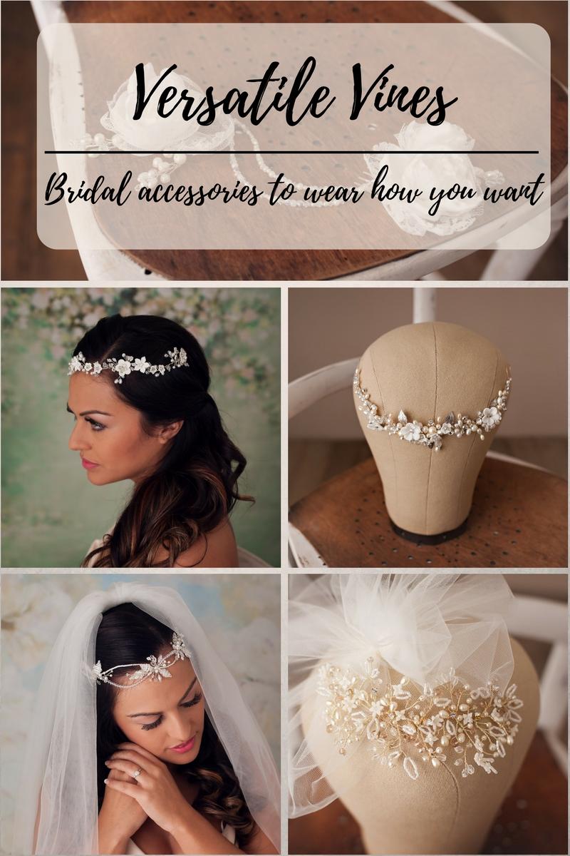 bridal hair vines uk