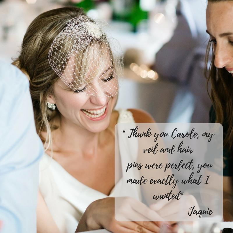 real bride pearl hair pns