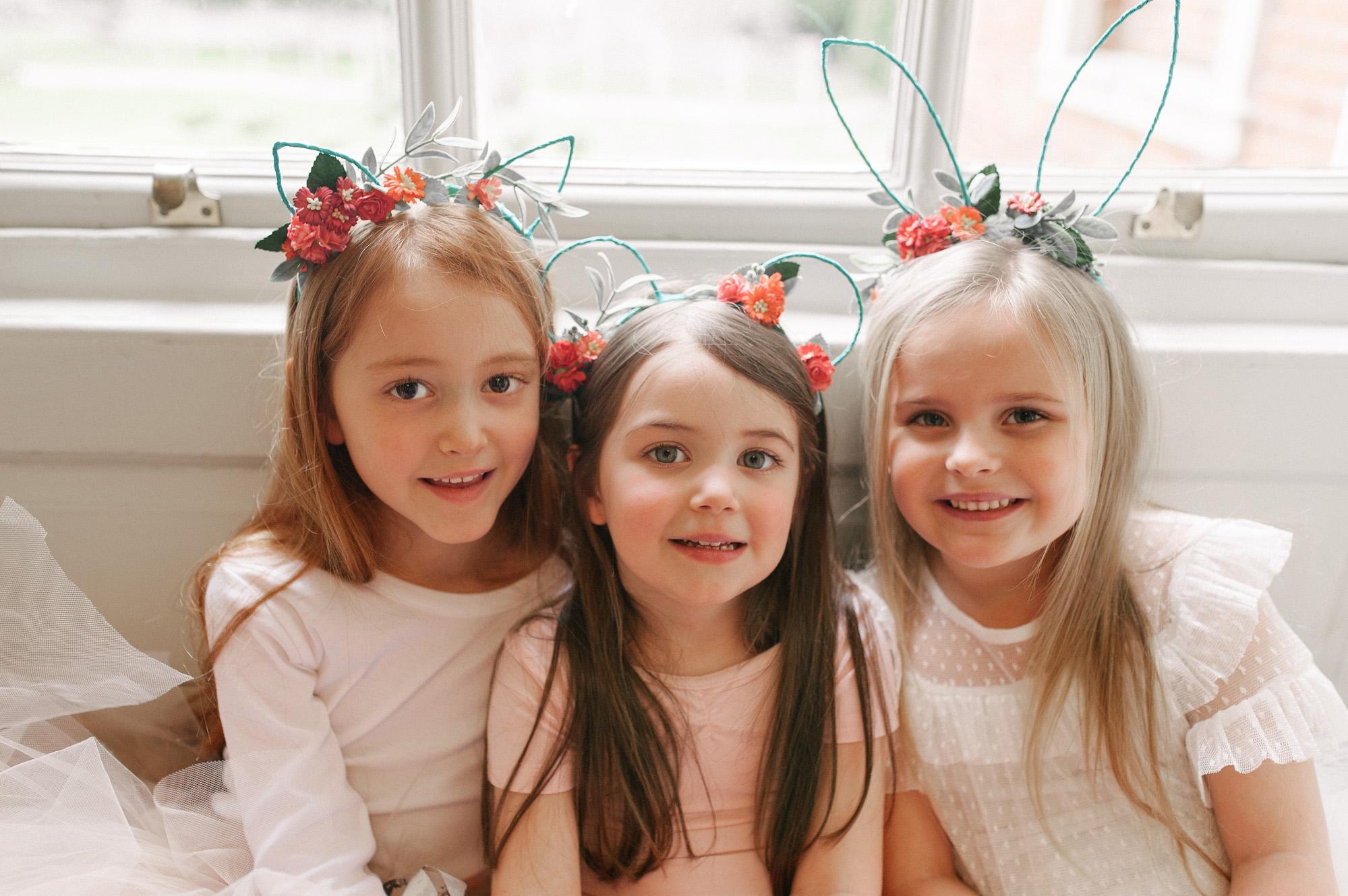 floral animal ears headbands