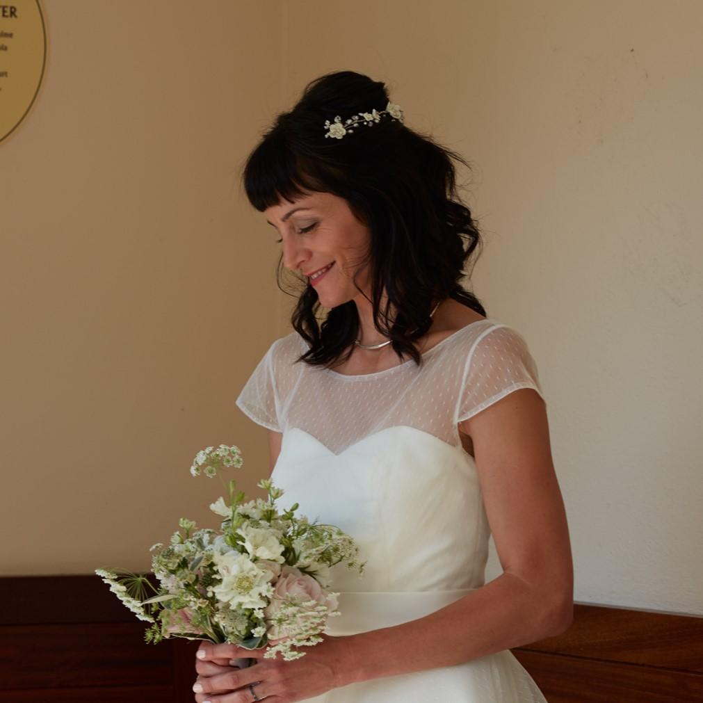 Bridal Hair Vine for Grainne's London Wedding