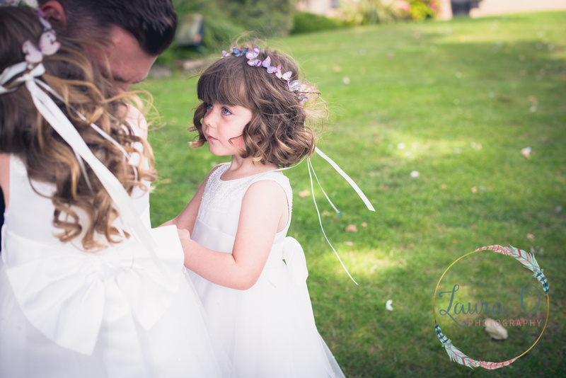 Real Wedding, Butterfly Bridesmaid Inspiration